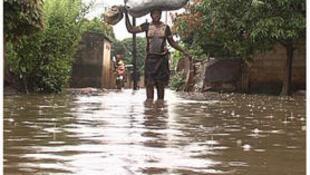 Inundações em Moçambique