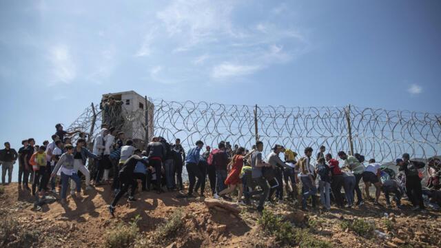 休达偷渡危机及其北非地缘政治背景(photo:RFI)
