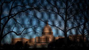 El Capitolio en Washington el 7 de enero de 2021, un día después de que seguidores de Trump irrumpieran en el edificio