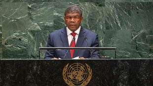 João lourenço, chefe de Estado de Angola discursa diante da Assembleia-Geral da ONU