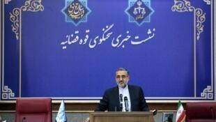 غلامحسین اسماعیلی سخنگوی قوه قضاییه جمهوری اسلامی ایران