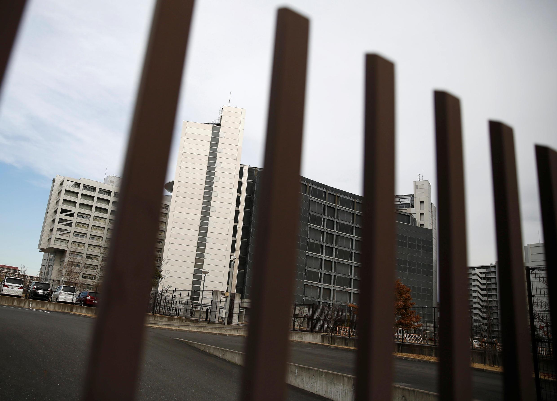Imagem da penintenciária onde está detido o ex-CEO da Nissan, Carlos Ghosn.