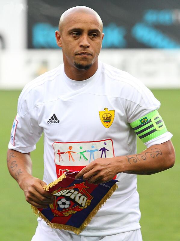 Roberto Carlos, futebolista.