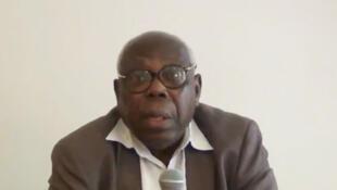 Godwin Tété, historien togolais (capture d'écran).