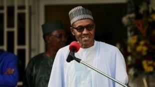 Shugaba Muhammadu Buhari na Najeriya.