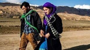 ذکیه و محمد علی، در افغانستان.
