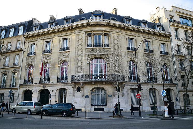 Edificio de la Embajada de Chile en Francia