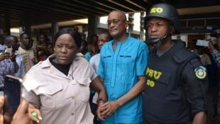 Charles Sirleaf, the son of former Liberian president Ellen Johnson-Sirleaf, is charged over missing billions saga, Monrovia, Liberia 4 March, 2019