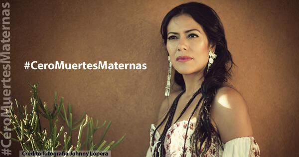 La cantante mexicana es la vocera principal de la campaña.