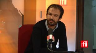 Manuel Bompard, directeur de campagne de Jean-Luc Mélenchon.