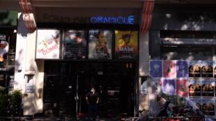 Le Cinéma Majestic, près de la place de la Bastille, le jour de la réouverture des salles en France, lundi 22 juin 2020.