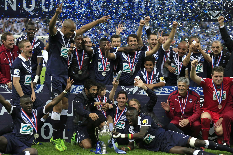 La joie des Bordelais après leur victoire face à Evian-Thonon-Gaillard, le 31 mai 2013.