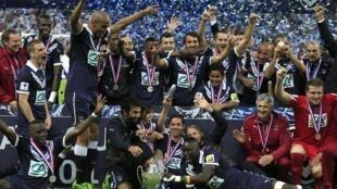 Equipa de Bordéus vence a Taça de França