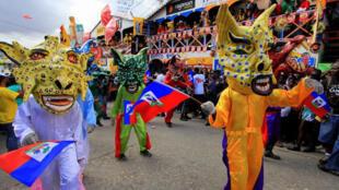 Le défilé carnavalesque en Haïti.