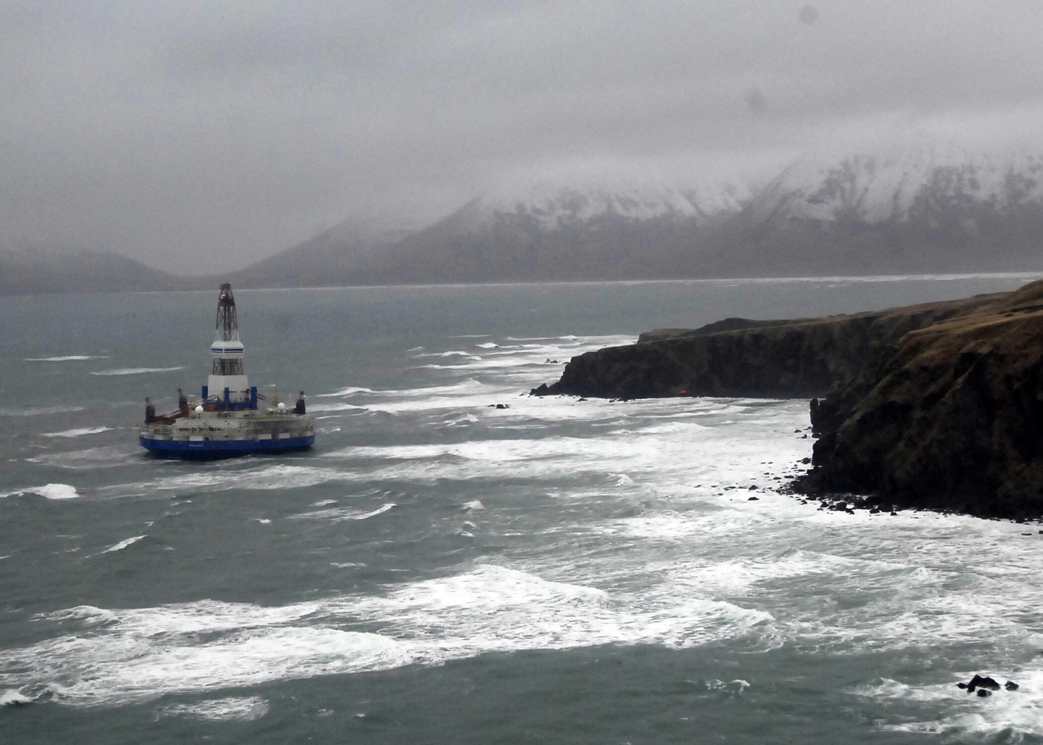 Efeitos do tremor de terra são sentidos no Alasca.