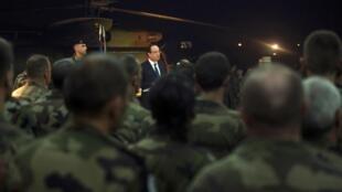 Le président français, François Hollande était en Centrafrique le 10 décembre 2013.
