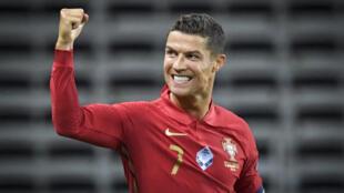 Cristiano Ronaldo marcou 101 golos com a camisola da Selecção Portuguesa.