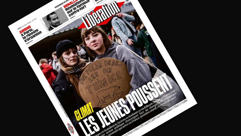 A imprensa francesa destaca a mobilização dos jovens na luta pelas mudanças climáticas.