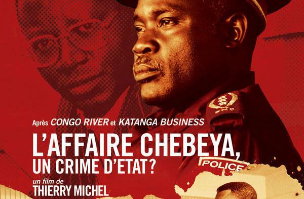 L'affiche du film «L'affaire Chebeya, un crime d'Etat ?»  du cinéaste belge Thierry Michel.