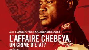 L'affiche du film «L'affaire Chebeya, un crime d'Etat ?»  de Thierry Michel.