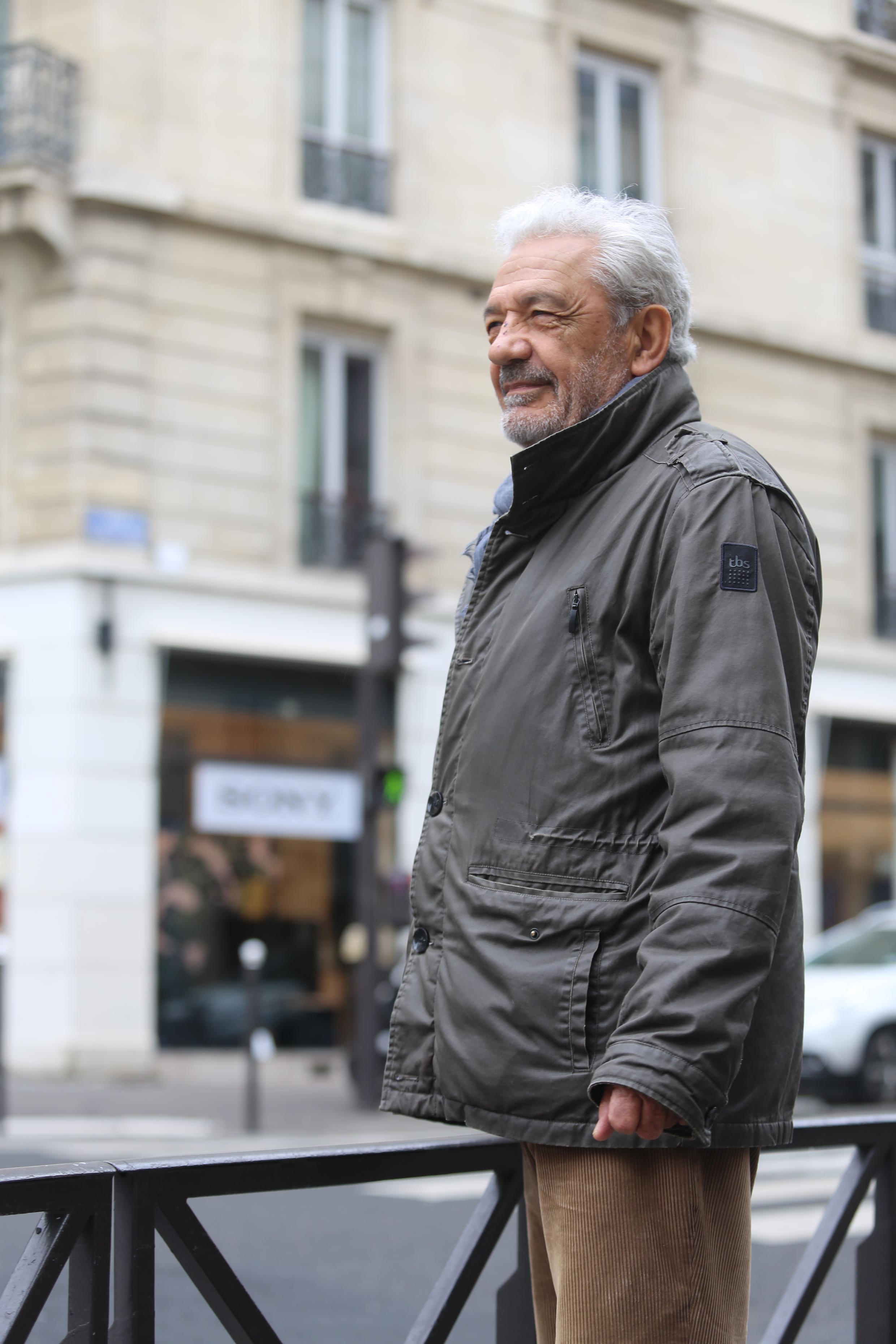Fernando Medeiros. Março de 2018. Paris.