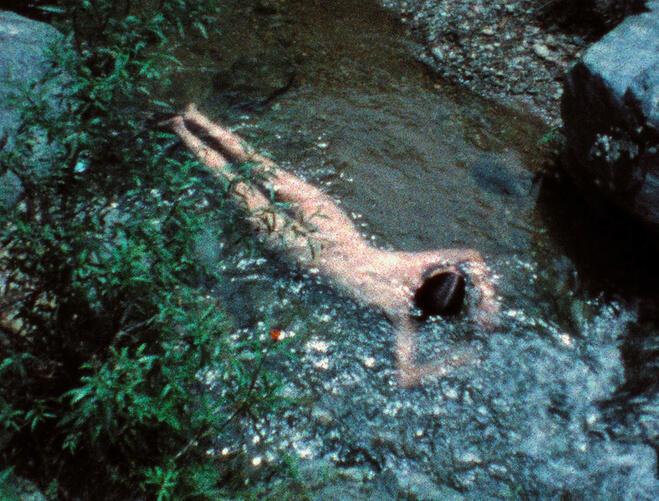 Ana Mendieta, Creek, 1974 Film Super-8