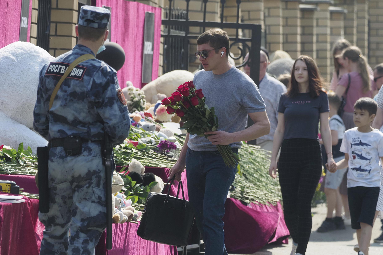 Russia school shooting