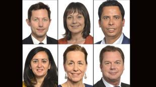 Carrefour de l'Europe 27 juin 2021 - vaccins - eurodéputés - François-Xavier Bellamy, Sylvie Guillaume, Mounir Satouri, Leila Chaibi, Fabienne Keller et Jérôme Rivière.