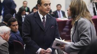 Vladimiro Montesinos durante su juicio en octubre de 2010, en Lima.