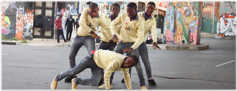 Les Soweto's Finest chez eux, en Afrique du Sud.