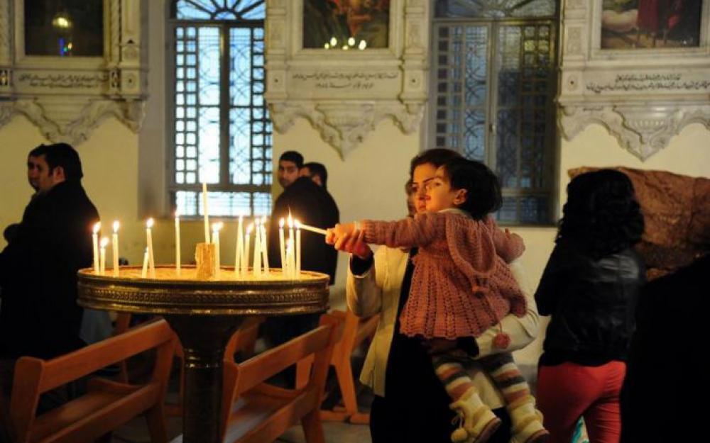 جشن نوئل مسیحیان عراق