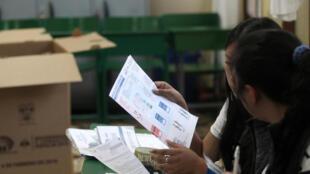 Equador decide em referendo pelo fim da reeleição indefinida. Foto do 04/02/18