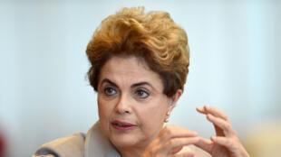 Dilma Rousseff foi suspensa provisoriamente da presidência brasileira.