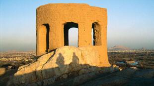 Temple du feu, Isfahan (Iran). Les temples du feu étaient des lieux de culte pour les Zoroastriens.