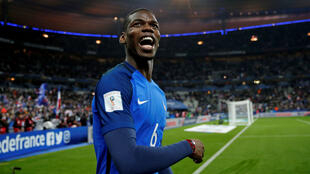 Paul Pogba scored for the second international match in a row as France fought back to beat Sweden.