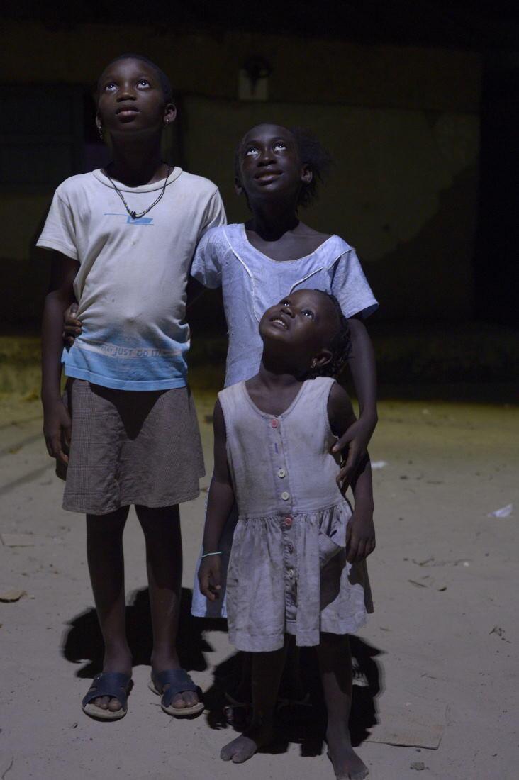 Inhabitants from Nioumoune village, in Senegal.