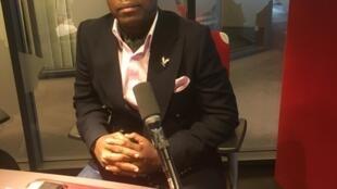 Evaristo Luz, secretário para as Relações Exteriores da CASA CE em Angola