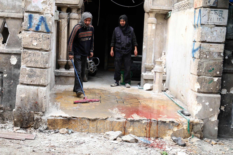 Dans le quartier al-Zebdieh le 5 décembre 2016.