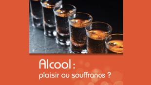Couverture du livre «Alcool : plaisir ou souffrance» de Mickael Naassila