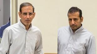 وحید مظلومین و محمد اسماعیل قاسمی دو تاجر طلا که در ایران اعدام شدند.