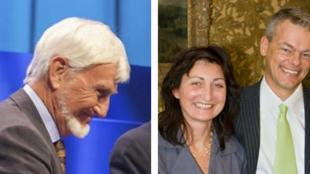 """زوج دانشمند نروژی به نامهای """"می- بریت"""" و """"ادوارد موزر"""" و یک دانشمند بریتانیایی- آمریکایی  به نام""""جان اوکیف"""""""
