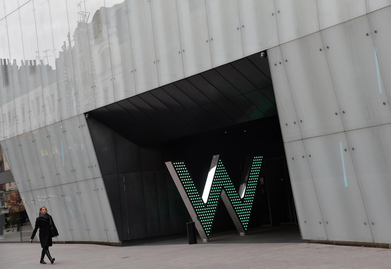 Khách sạn W, nằm trong chuỗi khách sạn Starwood, Luân Đôn, Anh (Ảnh chụp ngày 04/03/2014)