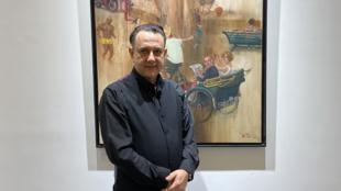 Nuno Bastos, responsável da Galeria Lisboa na Doca dos Pescadores de Macau a 4 de Dezembro de 2019.