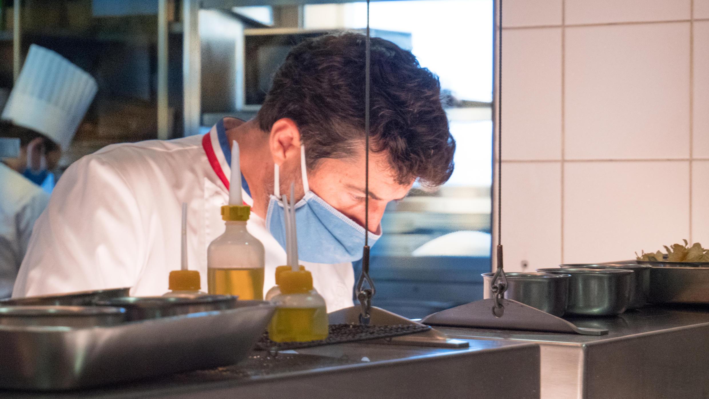 Yannick Franques, el chef de la Tour d'Argent