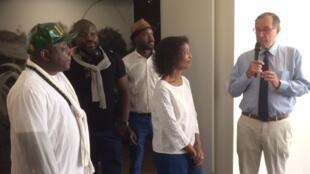 Jusqu'au 6 mai, la fondation Dapper présente «Afriques» en Martinique.