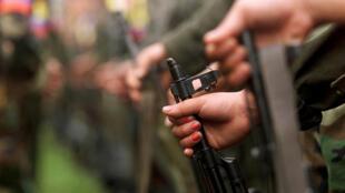 A guerrilha das Farc terminou na segunda-feira, 26 de junho de 2017, a entrega de todas as armas individuais de seus 7 mil guerrilheiros à missão da ONU, como previa o Acordo de Paz.