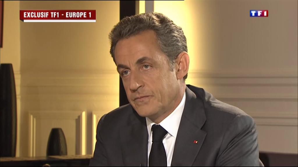O ex-presidente francês Nicolas Sarkozy durante entrevista nesta quarta-feira (2).