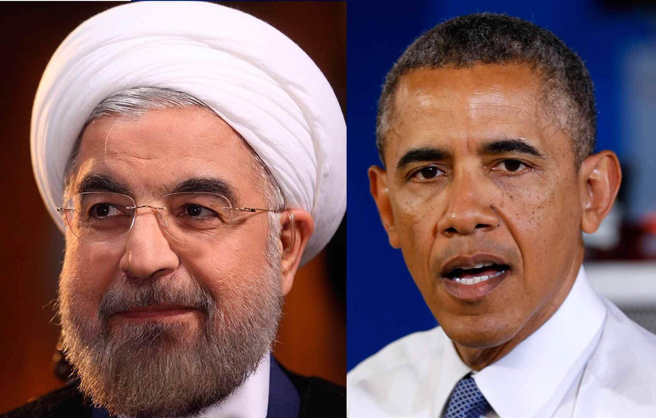Les présidents Hassan Rohani et Barack Obama.