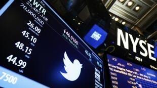 Twitter abre capital na Bolsa de Valores de Nova York.