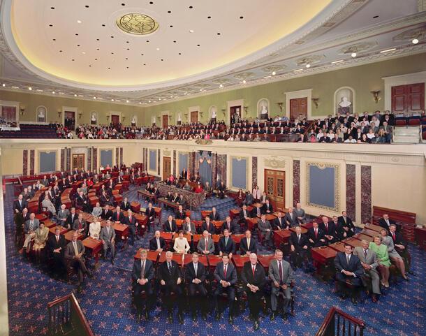 ព្រឹទ្ធសភាអាមេរិកនៅទីក្រុង Washington D.C..